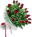 Ankara internetten çiçek satışı  11 adet kirmizi gül buketi sade ve hos sevenler