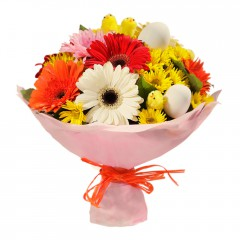 Karışık mevsim buketi Mevsimsel çiçek  Ankara internetten çiçek siparişi