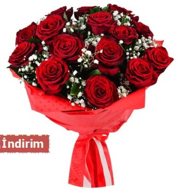 12 Adet kırmızı aşk gülleri  Ankara çiçek satışı