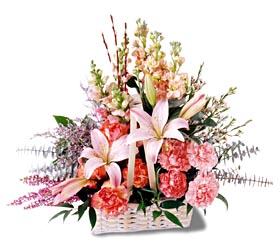 Ankara çiçek siparişi sitesi  mevsim çiçekleri sepeti özel tanzim