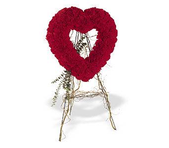 Ankara internetten çiçek satışı  karanfillerden kalp pano