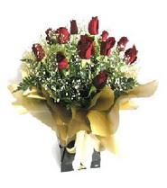 Ankara internetten çiçek siparişi  11 adet kirmizi gül  buketi