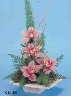 Ankara çiçekçi telefonları  vazoda 4 adet orkide