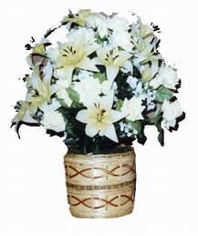 yapay karisik çiçek sepeti   Ankara çiçek mağazası , çiçekçi adresleri