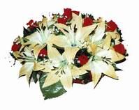 yapay karisik çiçek sepeti   Ankara internetten çiçek siparişi