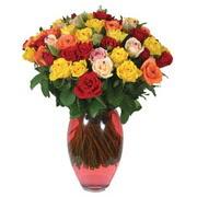 51 adet gül ve kaliteli vazo   Ankara çiçek gönderme sitemiz güvenlidir