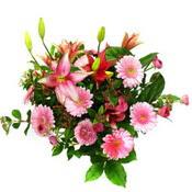 lilyum ve gerbera çiçekleri - çiçek seçimi -  Ankara çiçek gönderme