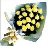 sari güllerden sade buket  Ankara çiçek , çiçekçi , çiçekçilik