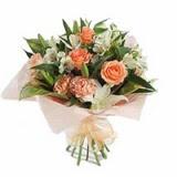 Ankara çiçek , çiçekçi , çiçekçilik  karisik buket tanzimi demeti - anneler günü çiçek buketi -