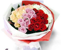 SEVENLERE ÖZEL 51 ADET GÜL  Ankara internetten çiçek satışı