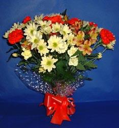 Ankara hediye çiçek yolla  kir çiçekleri buketi mevsim demeti halinde