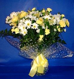 Ankara hediye çiçek yolla  sade mevsim demeti buketi sade ve özel