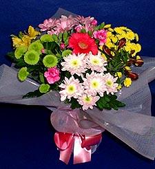 Ankara hediye çiçek yolla  küçük karisik mevsim demeti
