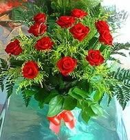 12 adet gül buketi  Ankara anneler günü çiçek yolla