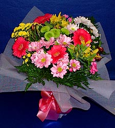 karisik sade mevsim demetligi   Ankara 14 şubat sevgililer günü çiçek