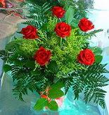 6 adet kirmizi gül buketi   Ankara online çiçek gönderme sipariş