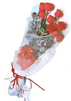 11 adet kirmizi güller buket tanzimi   Ankara çiçek siparişi sitesi