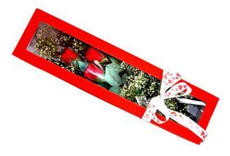 Ankara hediye çiçek yolla  Kutuda 3 adet gül