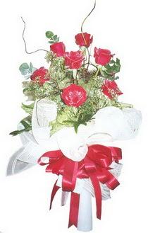 Ankara çiçek siparişi sitesi  7 adet kirmizi gül buketi