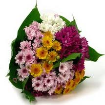 Ankara çiçekçi telefonları  Karisik kir çiçekleri demeti herkeze