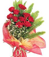 11 adet kaliteli görsel kirmizi gül  Ankara çiçek satışı