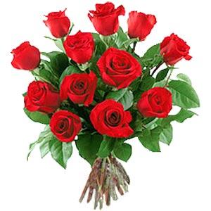 11 adet bakara kirmizi gül buketi  Ankara güvenli kaliteli hızlı çiçek