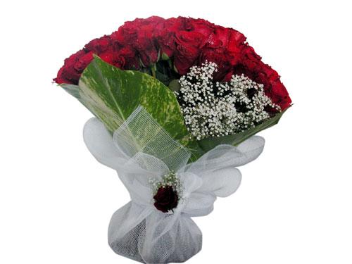 25 adet kirmizi gül görsel çiçek modeli  Ankara çiçek servisi , çiçekçi adresleri