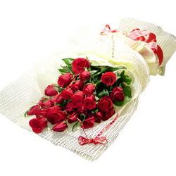 Çiçek gönderme 13 adet kirmizi gül buketi  Ankara çiçek satışı
