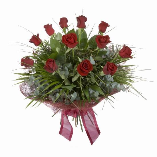 Etkileyici buket 11 adet kirmizi gül buketi  Ankara internetten çiçek satışı