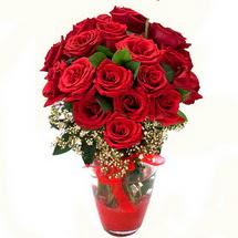 Ankara çiçek siparişi sitesi   9 adet kirmizi gül