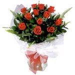 Ankara çiçek , çiçekçi , çiçekçilik  9 adet güzel bir gül buketi