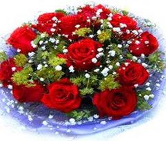 9 adet kirmizi güllerden buket  Ankara çiçekçi telefonları