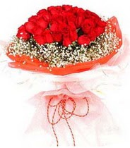 Ankara hediye sevgilime hediye çiçek  21 adet askin kirmizi gül buketi