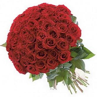 Ankara güvenli kaliteli hızlı çiçek  101 adet kırmızı gül buketi modeli