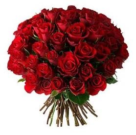 Ankara çiçek , çiçekçi , çiçekçilik  33 adet kırmızı gül buketi
