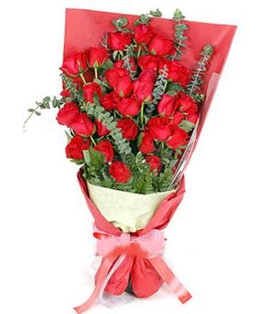 Ankara çiçek gönderme  37 adet kırmızı güllerden buket