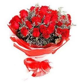 Ankara çiçek mağazası , çiçekçi adresleri  12 adet kırmızı güllerden görsel buket