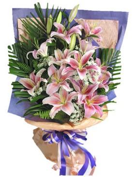 7 dal kazablankadan görsel buket  Ankara kaliteli taze ve ucuz çiçekler