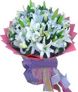 7 dal cazablanca görsel buketi  Ankara çiçekçi mağazası
