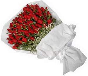 Ankara İnternetten çiçek siparişi  51 adet kırmızı gül buket çiçeği
