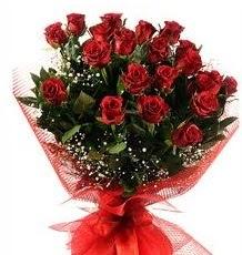 İlginç Hediye 21 Adet kırmızı gül  Ankara internetten çiçek siparişi