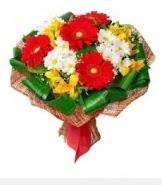 1 demet karışık buket  Ankara hediye sevgilime hediye çiçek