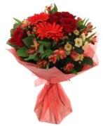 karışık mevsim buketi  Ankara internetten çiçek siparişi
