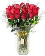 27 adet vazo içerisinde kırmızı gül  Ankara İnternetten çiçek siparişi
