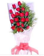 19 adet kırmızı gül buketi  Ankara uluslararası çiçek gönderme