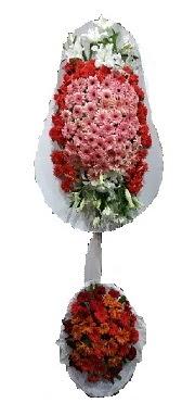 çift katlı düğün açılış sepeti  Ankara internetten çiçek satışı