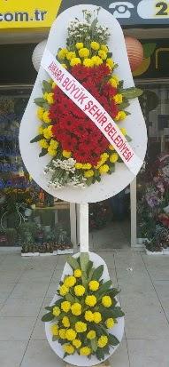 Çift katlı düğün nikah açılış çiçek modeli  Ankara çiçekçi mağazası