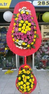 Çift katlı düğün nikah açılış çiçek modeli  Ankara online çiçek gönderme sipariş