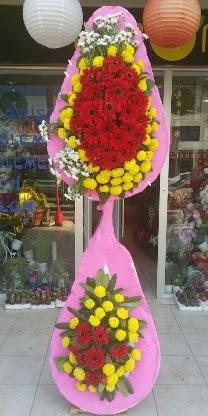 Çift katlı düğün nikah açılış çiçek modeli  Ankara çiçekçiler