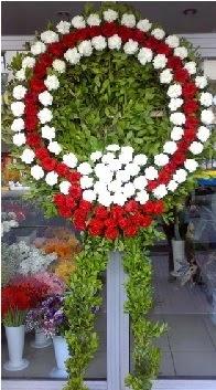 Cenaze çelenk çiçeği modeli  Ankara anneler günü çiçek yolla